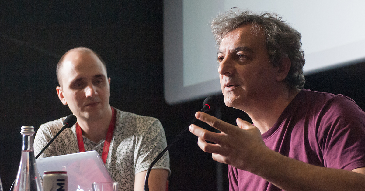 "On July 19, Polish filmmaker and scriptwriter Denijal Hasanović conducted the workshop ""A scene with full progression (full run)"""