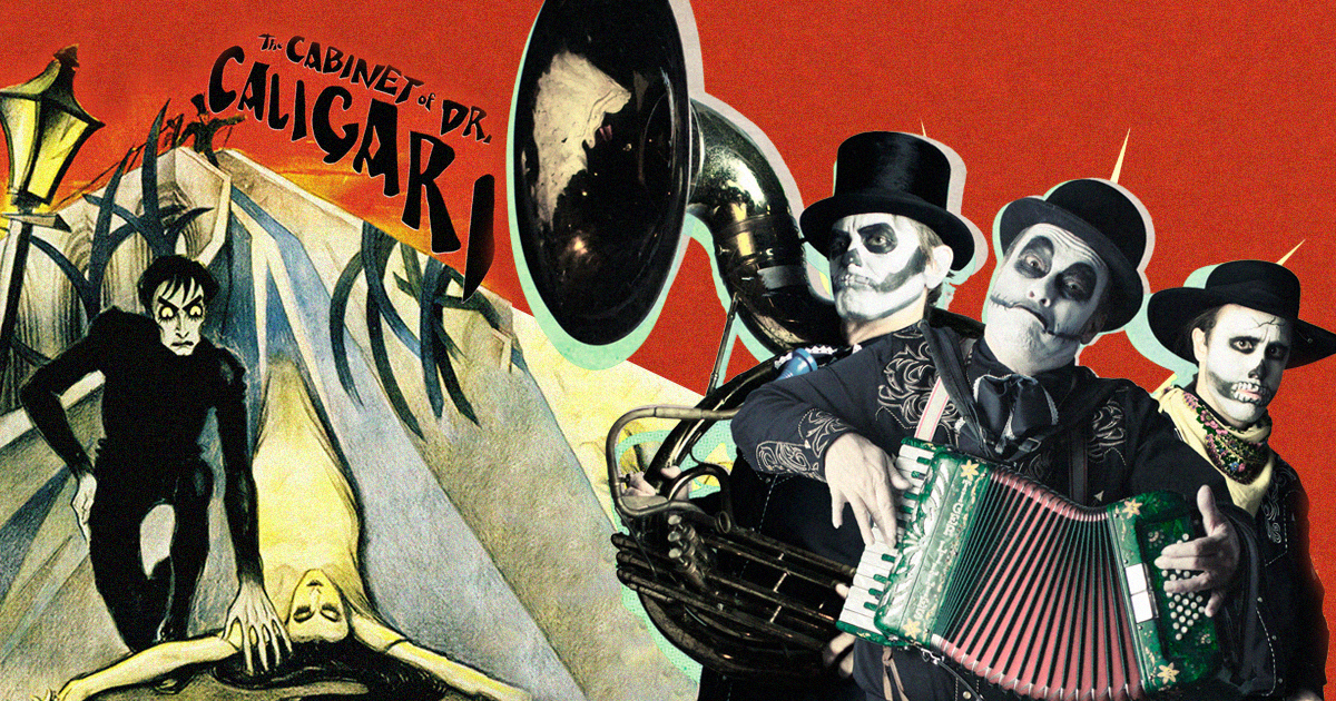 "OIFF Special Event: ""The Cabinet of Dr. Caligari"" by Robert Wiene accompanied by the cult British punk cabaret band ""The Tiger Lillies"""