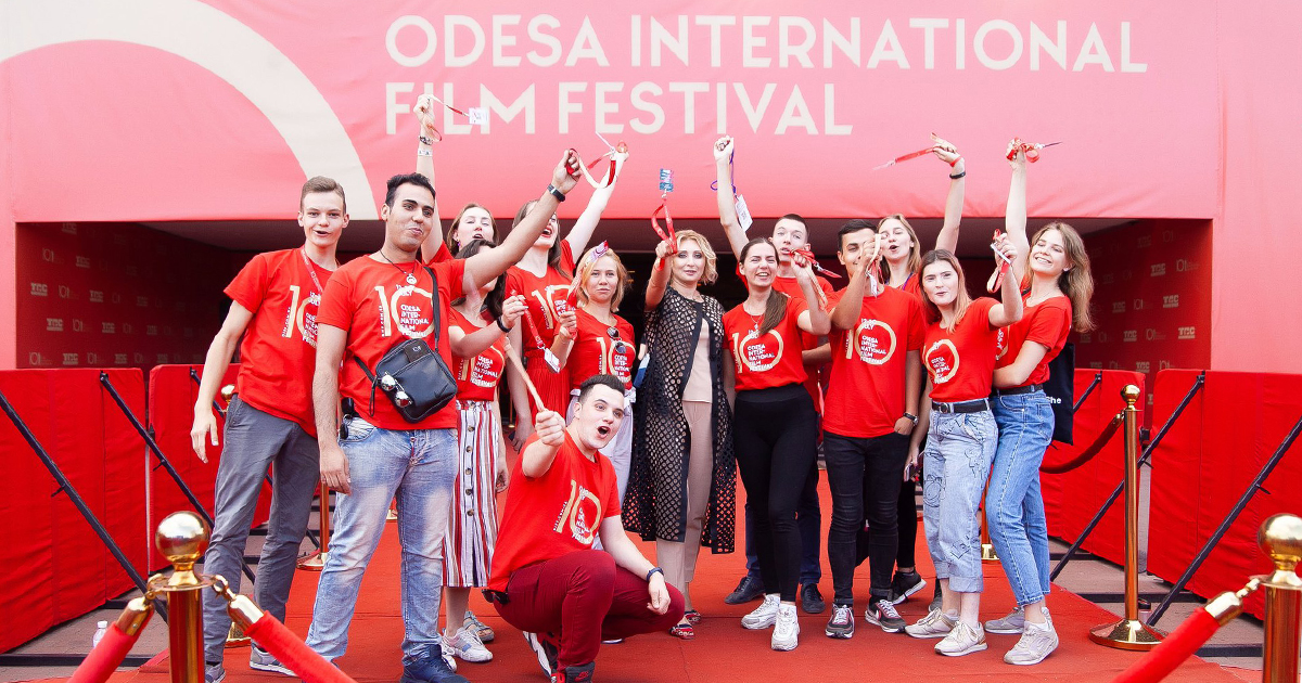 Odesa International Film Festival starts accepting volunteer applications for its 11th edition!
